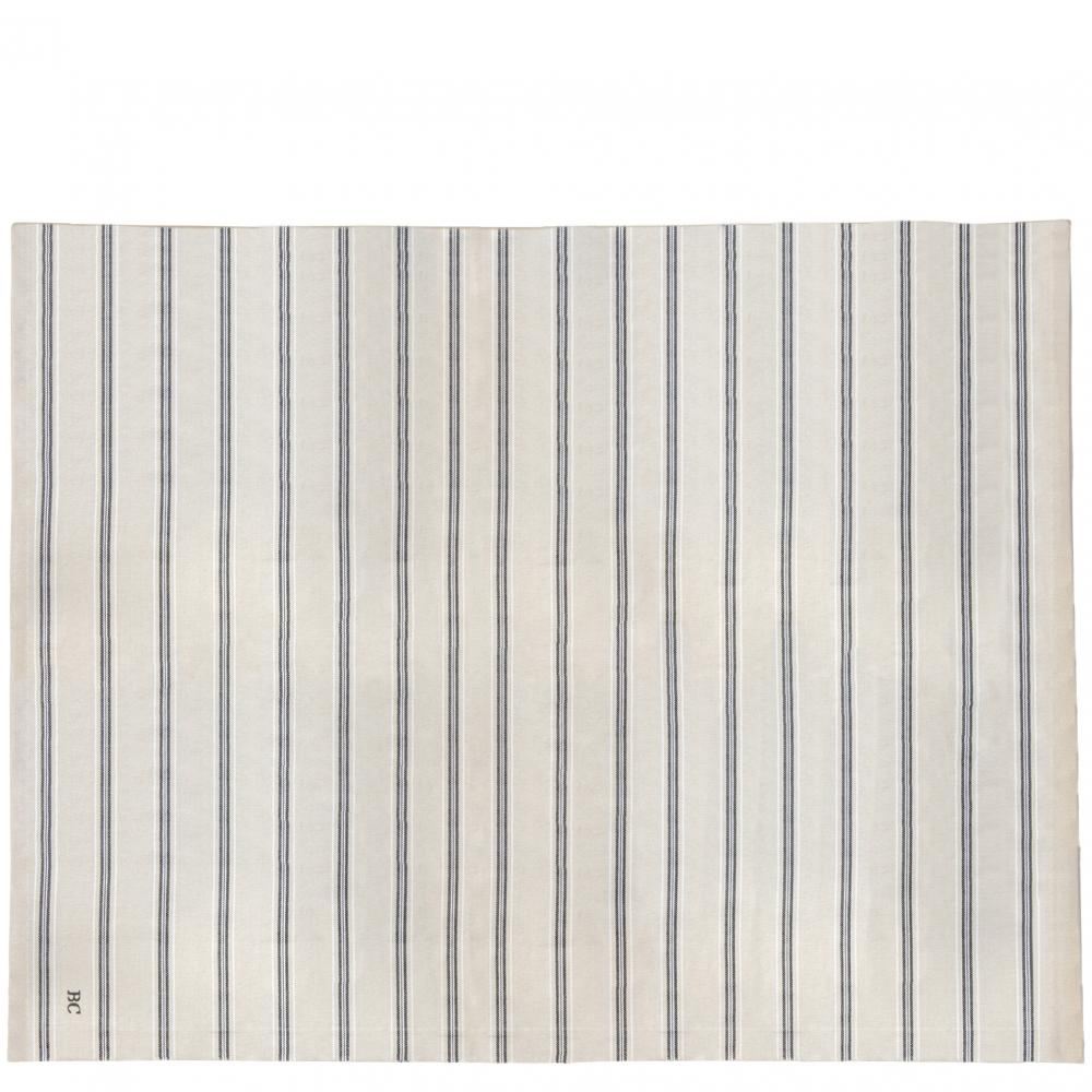 Tablecloth Naturel Chambray 160x260 cm Stripe